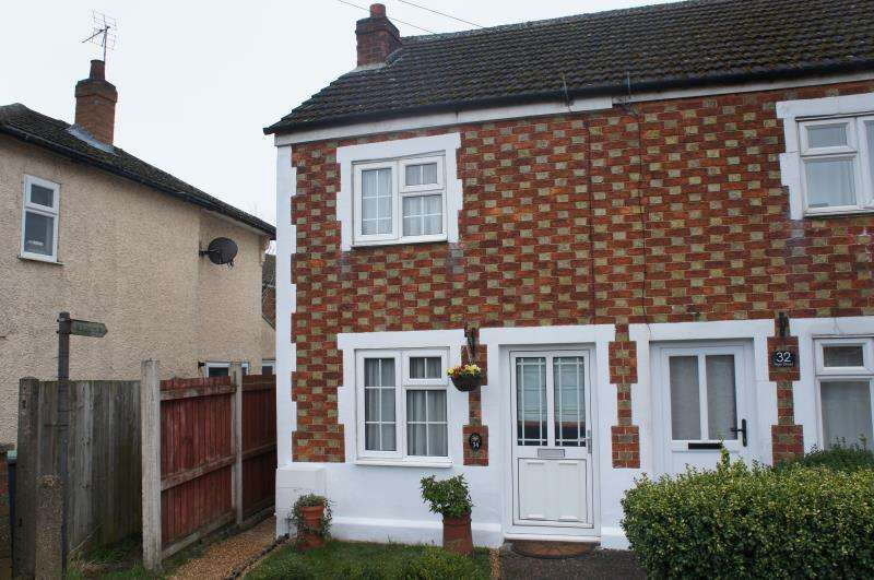 2 Bedrooms Terraced House for sale in High Street, Cranfield, Bedfordshire