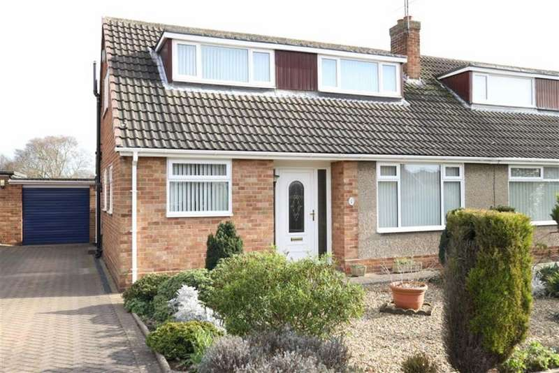 3 Bedrooms Semi Detached Bungalow for sale in Gloucester Place, Darlington