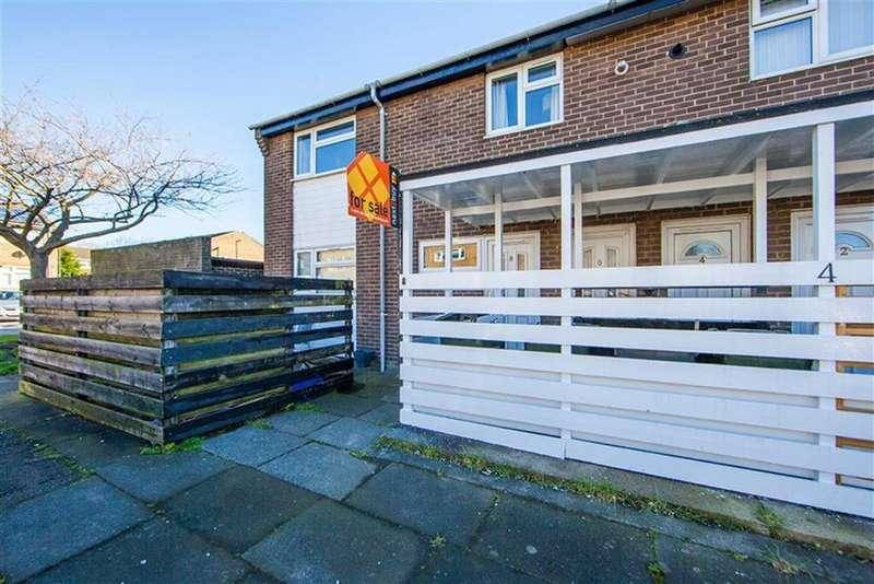 2 Bedrooms Apartment Flat for sale in Belsay Close, Battle Hill, Wallsend, NE28