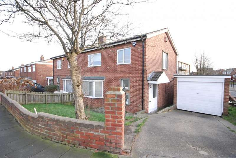 3 Bedrooms Semi Detached House for sale in Belsay Gardens, Red House Farm