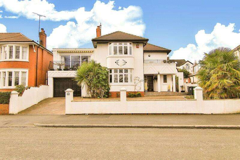 4 Bedrooms Detached House for sale in Lake Road West, Roath Park, Cardiff, CF23