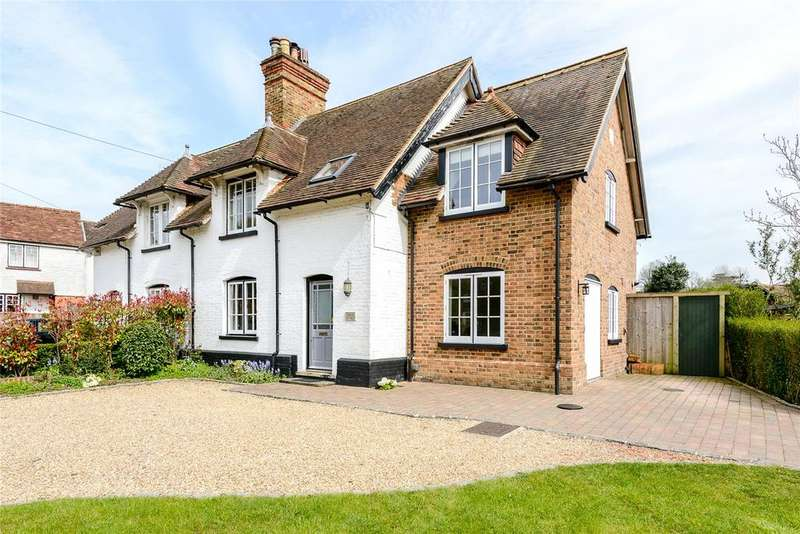 3 Bedrooms Semi Detached House for sale in Church Road, Windlesham, Surrey