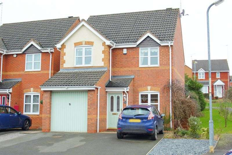 3 Bedrooms Detached House for sale in Kite Lane, Brockhill, Redditch, Worcestershire