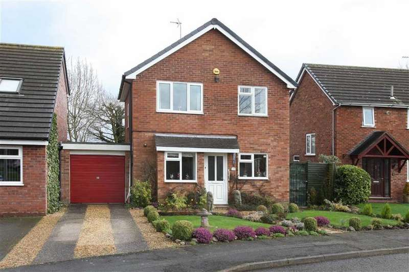 3 Bedrooms Detached House for sale in Bishops Wood, Nantwich, Cheshire