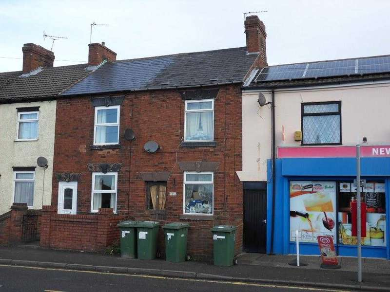 1 Bedroom Terraced House for sale in Ilkeston Road, Marlpool