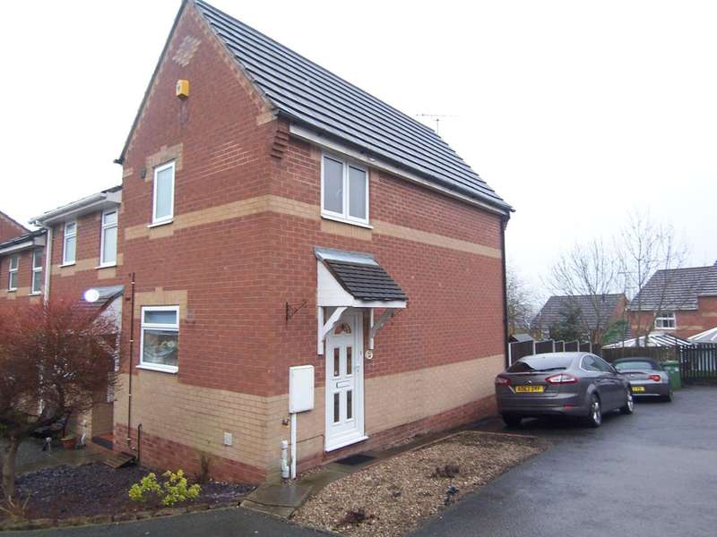 2 Bedrooms Town House for sale in Astcote Close, Heanor