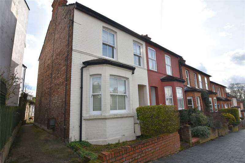 3 Bedrooms End Of Terrace House for sale in Cornwall Road, St. Albans, Hertfordshire