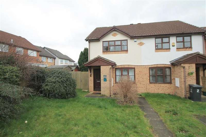 2 Bedrooms Semi Detached House for sale in Riverdale, Wrexham, Wrexham