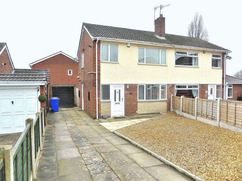 3 Bedrooms Semi Detached House for sale in Nutbrook Avenue, Stoke-On-Trent