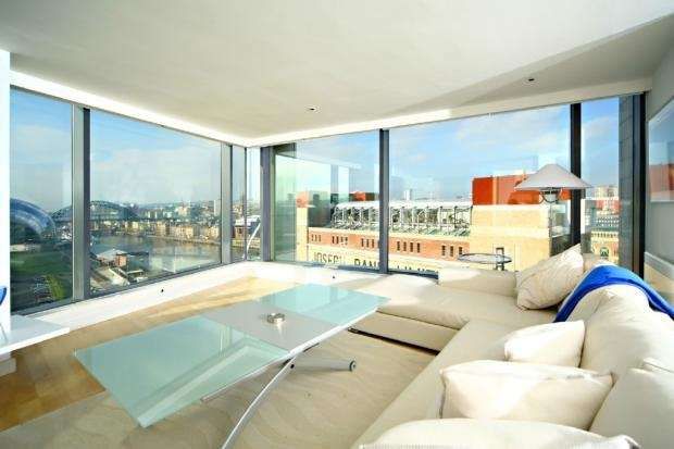3 Bedrooms Flat for rent in BALTIC QUAY PENTHOUSE, Quayside, GATESHEAD, NEWCASTLE CITY, Tyne and Wear