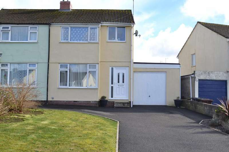 3 Bedrooms Semi Detached House for sale in Queens Crescent, Bodmin
