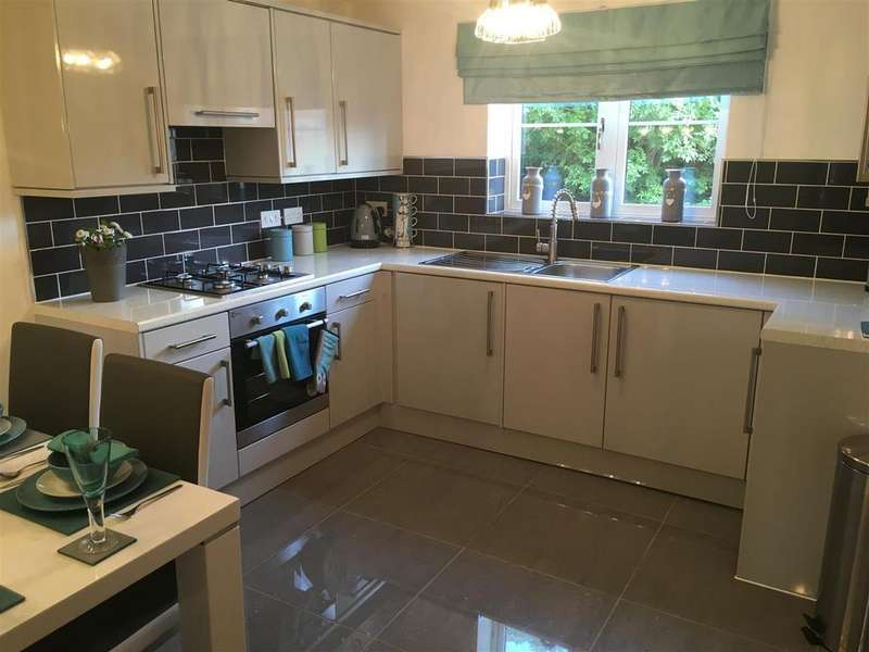 2 Bedrooms Apartment Flat for sale in Apartments, Highgrove Court, Carlton, Barnsley, S71 3RW