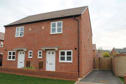 2 Bedrooms Semi Detached House for sale in Ravelin Close, Meon Vale, Stratford-upon-Avon