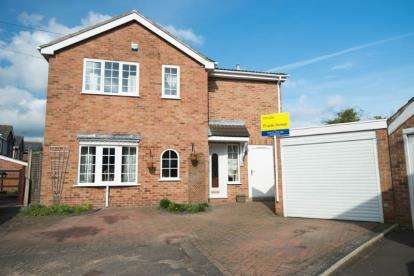 4 Bedrooms Detached House for sale in Meadow Close, Findern, Derby, Derbyshire