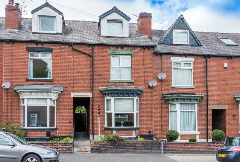 3 Bedrooms Terraced House for rent in Archer Road, Sheffield, S8