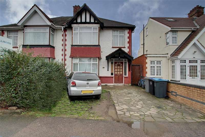 3 Bedrooms Semi Detached House for sale in Bassingham Road, Wembley, HA0