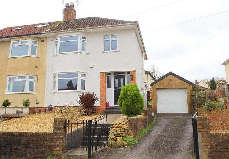 3 Bedrooms Semi Detached House for sale in Walnut Walk, Headley Park, BRISTOL, BS13