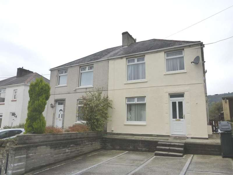 3 Bedrooms Semi Detached House for sale in Fforest Hill, Aberdulais, Neath