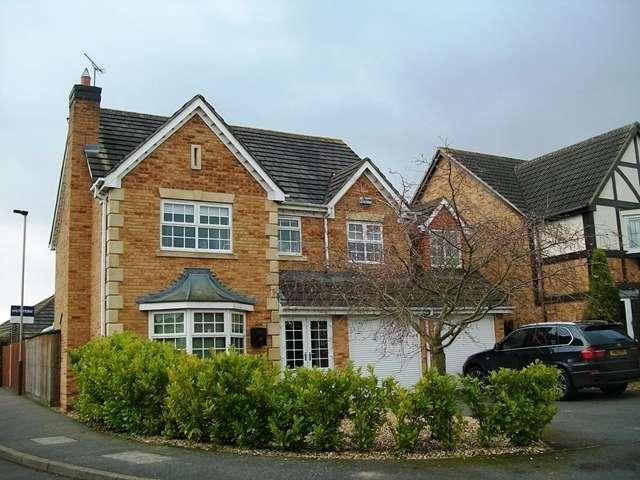5 Bedrooms Detached House for sale in Avington Close, Heatley Park. LE3 9ET