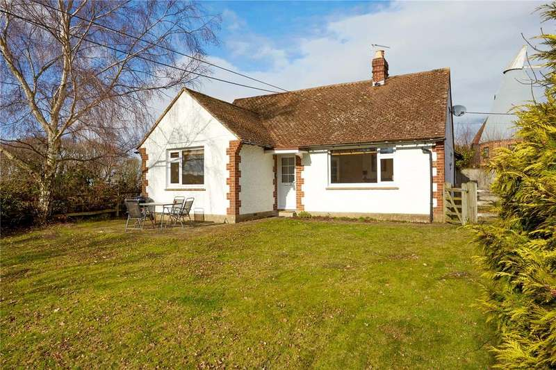 3 Bedrooms Detached Bungalow for sale in Crittenden Road, Matfield, Tonbridge, Kent, TN12