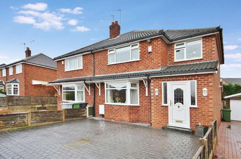 3 Bedrooms Semi Detached House for sale in Wingfield Avenue, Wilmslow