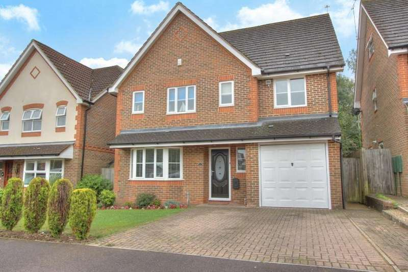 4 Bedrooms Detached House for sale in Blenheim Close, Knightwood Park, Chandlers Ford