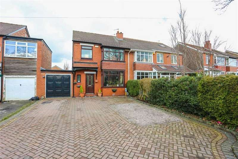 3 Bedrooms Semi Detached House for sale in Stockport Road, Marple, Cheshire