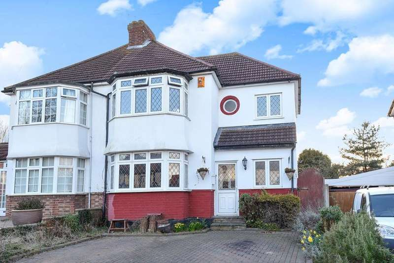 3 Bedrooms Semi Detached House for sale in Cherry Tree Walk, West Wickham, BR4