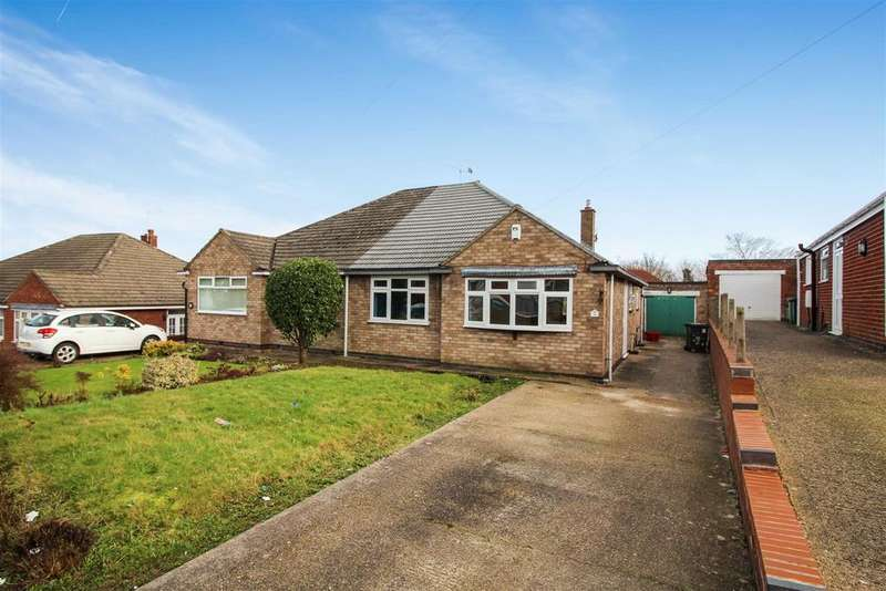3 Bedrooms Semi Detached Bungalow for sale in Harrow Road, Whitnash, Leamington Spa
