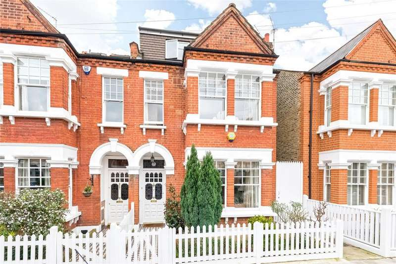 4 Bedrooms Semi Detached House for sale in Rectory Road, Barnes, London, SW13