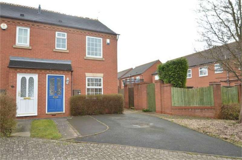 2 Bedrooms Semi Detached House for sale in Chapel Street, Wall Heath, Kingswinford, West Midlands