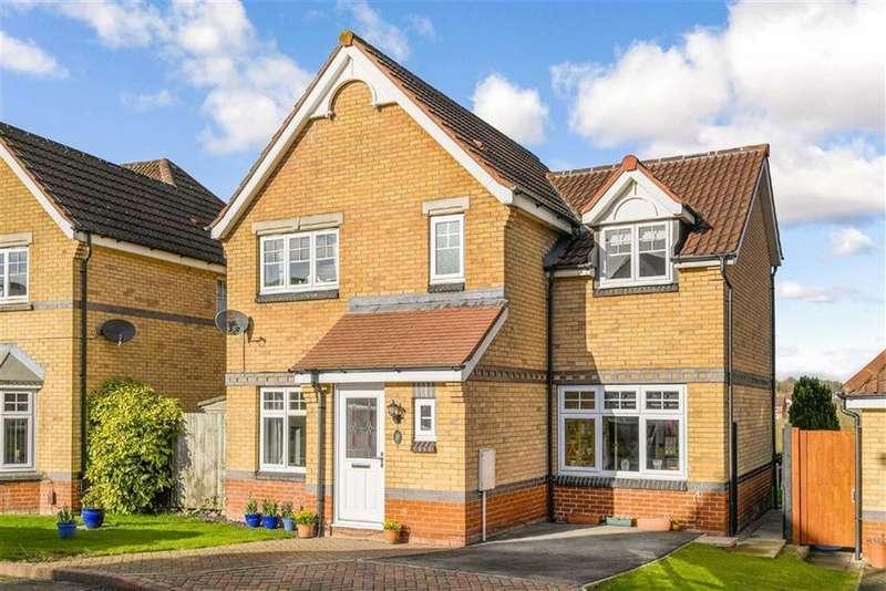 3 Bedrooms Detached House for sale in Burdock Close, Harrogate, North Yorkshire