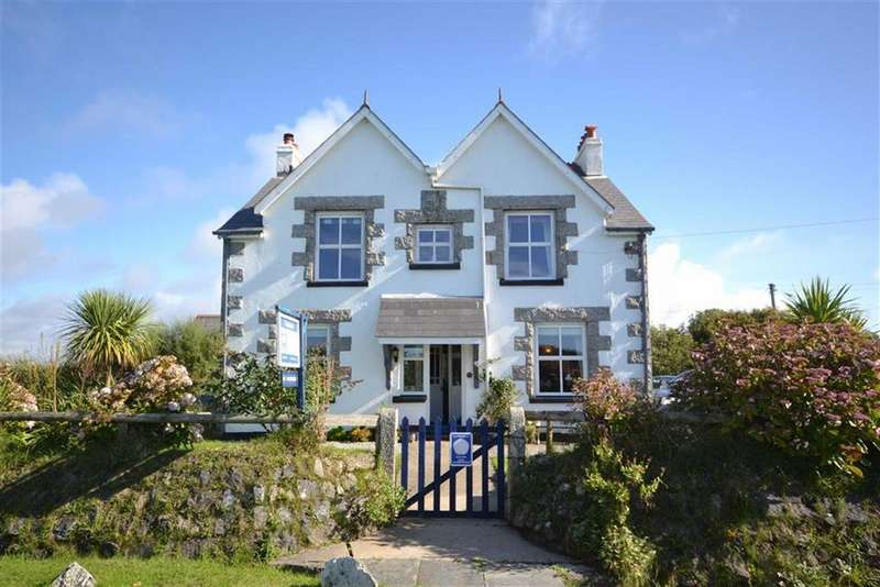 5 Bedrooms Detached House for sale in Ruan Minor, Cadgwith, Helston, Cornwall, TR12