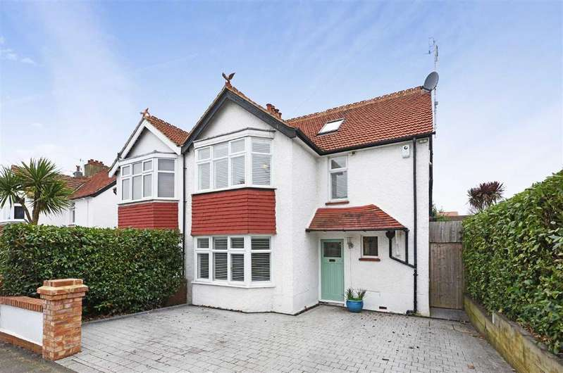 4 Bedrooms Semi Detached House for sale in Reynolds Road, Hove