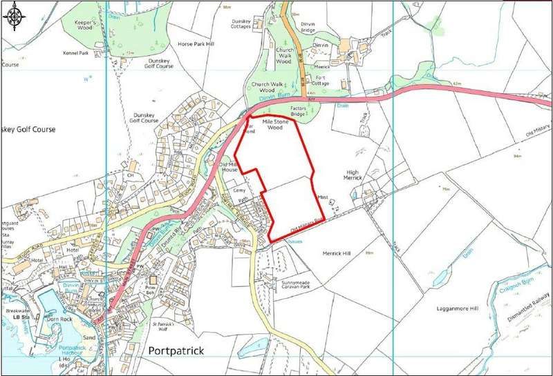 Land Commercial for sale in Land At High Merrick, Portpatrick, Dumfries and Galloway