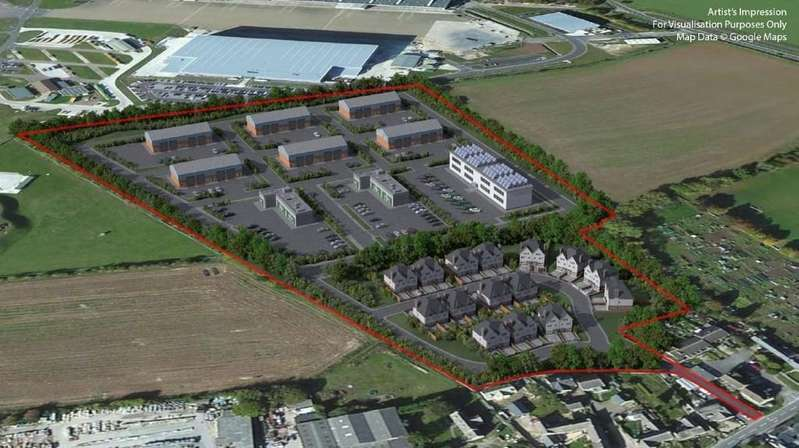 Land Commercial for sale in Station Road, Brize Norton