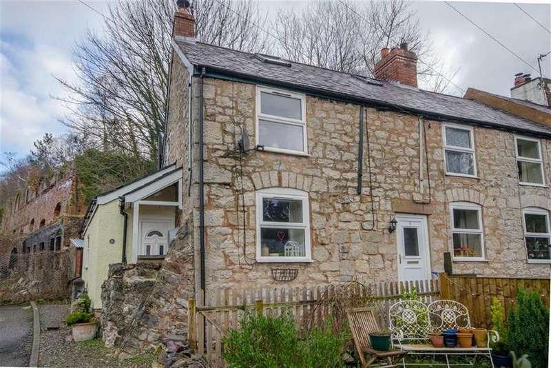 2 Bedrooms Terraced House for sale in Sportsman Terrace, Afonwen, Mold