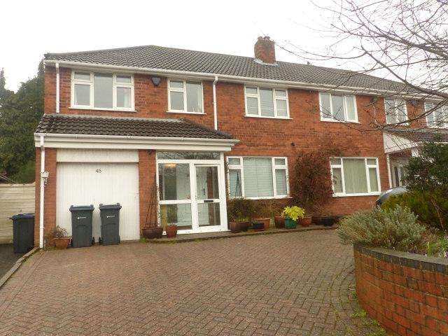 4 Bedrooms Semi Detached House for sale in Sara Close,Four Oaks,Sutton Coldfield
