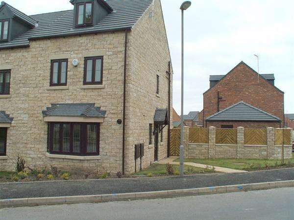 4 Bedrooms Semi Detached House for sale in Bluebell Walk, Creswell, Worksop