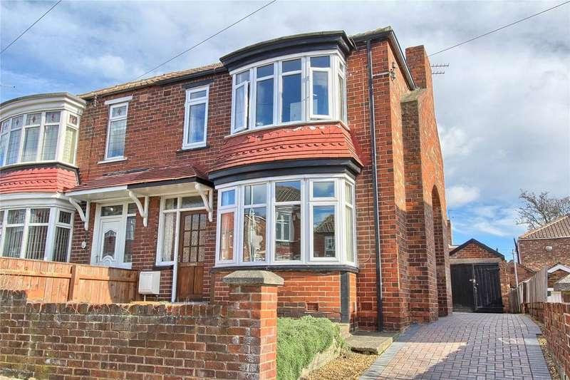 3 Bedrooms Semi Detached House for sale in Conifer Crescent, Billingham