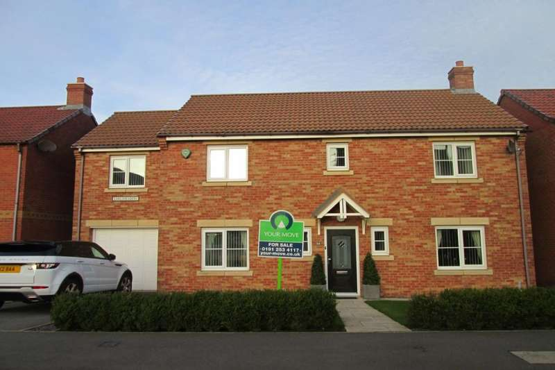 5 Bedrooms Detached House for rent in Earlsmeadow, Shiremoor, Newcastle Upon Tyne, NE27