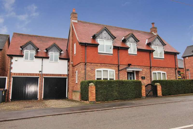 4 Bedrooms Detached House for sale in Main Street, Bagworth, Coalville, LE67