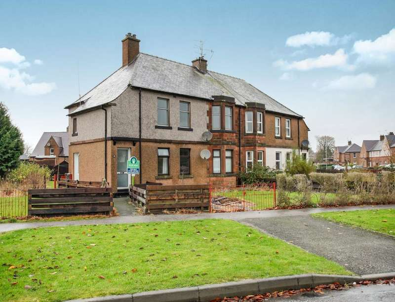 3 Bedrooms Flat for sale in Moat Road, Dumfries, DG2