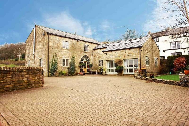 4 Bedrooms Detached House for sale in Off Oldham Road, Denshaw, Saddleworth