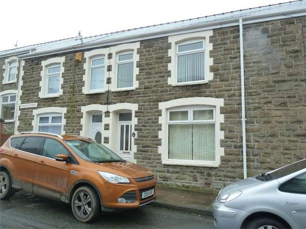 3 Bedrooms Terraced House for sale in Carmen Street, Caerau, Maesteg, Mid Glamorgan