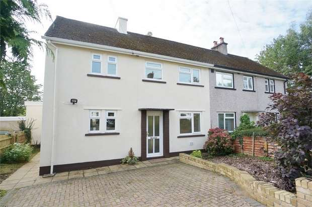 3 Bedrooms Semi Detached House for sale in Ladyhill, USK, Monmouthshire