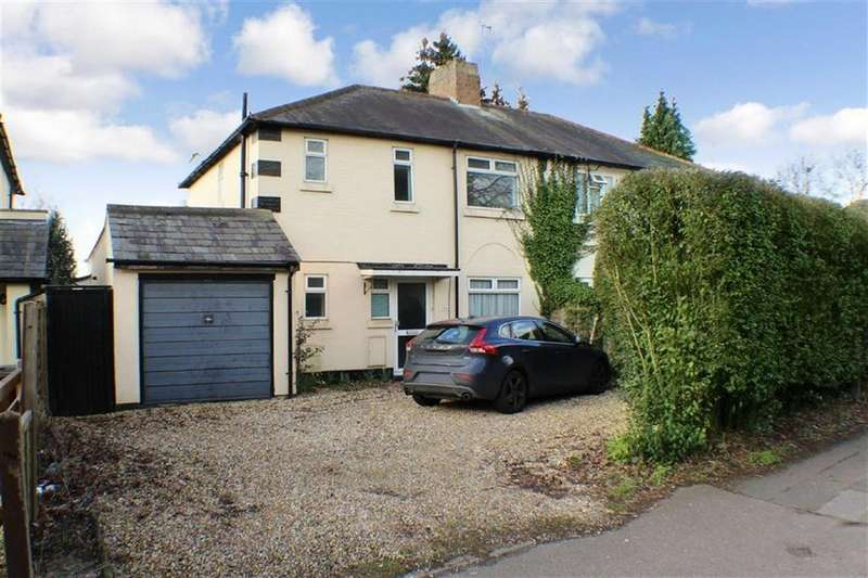 4 Bedrooms Semi Detached House for sale in Watling Street, St Albans, Hertfordshire