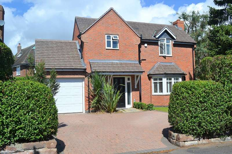 4 Bedrooms Detached House for sale in Cherry Orchard, Lichfield