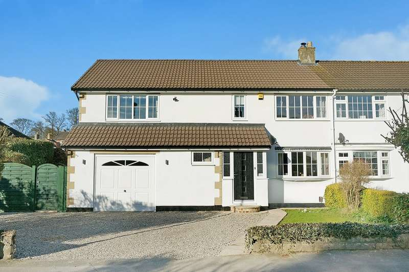 4 Bedrooms Semi Detached House for sale in Hall Close, Boston Spa, LS23