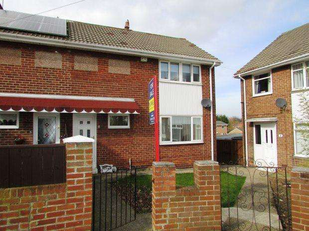 2 Bedrooms Semi Detached House for sale in NEASHAM ROAD, SEAHAM, SEAHAM DISTRICT